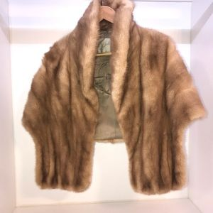 Jackets & Blazers - Authentic Fur Shoulder Shall